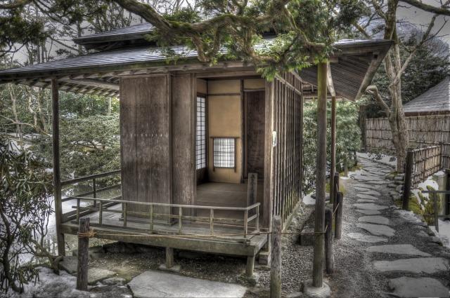 江戸時代の日本庭園「逍遥園」