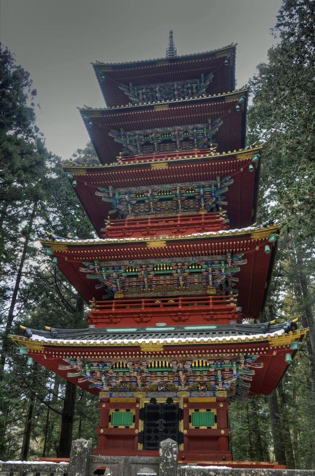 日光東照宮の五重塔