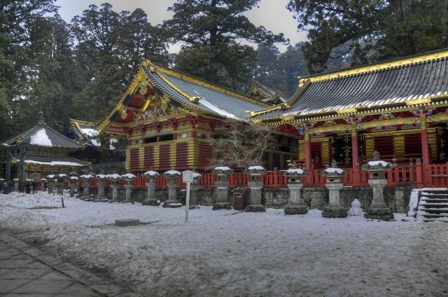 日光東照宮の三神庫