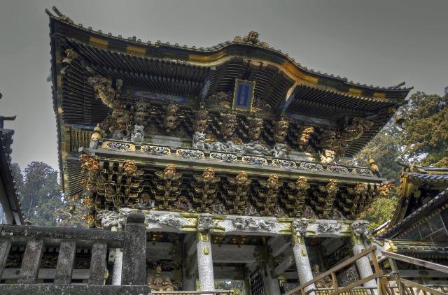 日光東照宮の陽明門