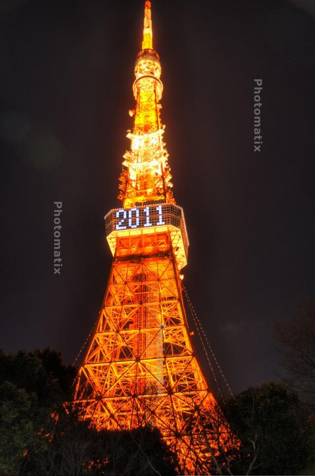 東京タワー2011@HDR
